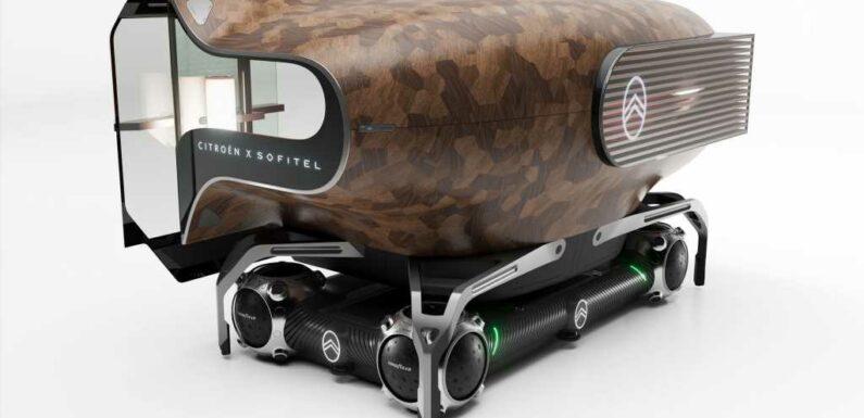 Citroen Urban Collectif: Three Odd Pods, One Autonomous Skateboard