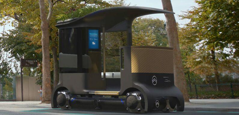Citroen rolls out the Skate – a modular autonomous EV for the future