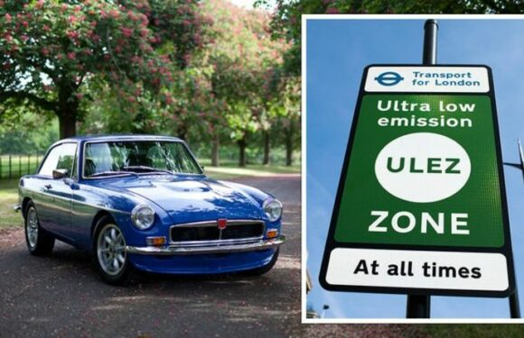 Classic car owners could be left 'out of pocket' from emissions zones tax charges