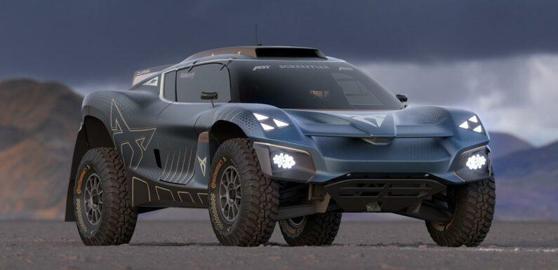 Cupra Extreme E concept previews Tavascan road car