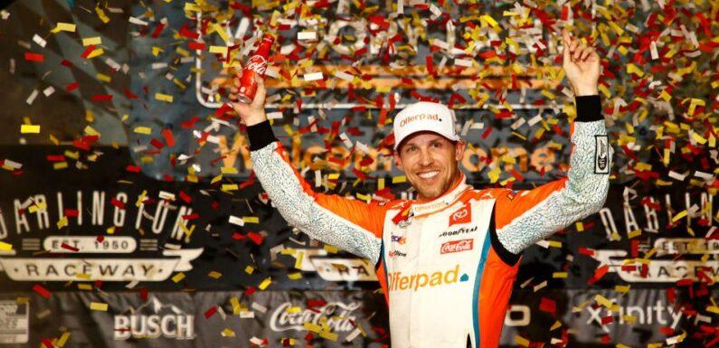 Denny Hamlin Strikes First at Darlington in NASCAR Cup Playoffs
