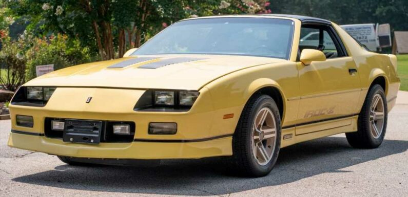 Don't Panic, but Someone Just Paid $56,000 for a 1987 Chevy Camaro