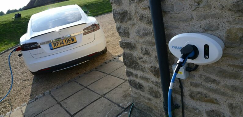 Electric car charge points to be installed in every new home in the UK