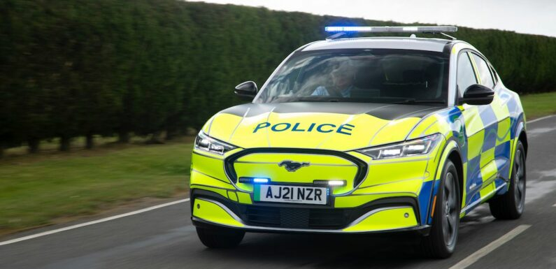 Ford Mustang Mach-E Gears Up for Police Duty