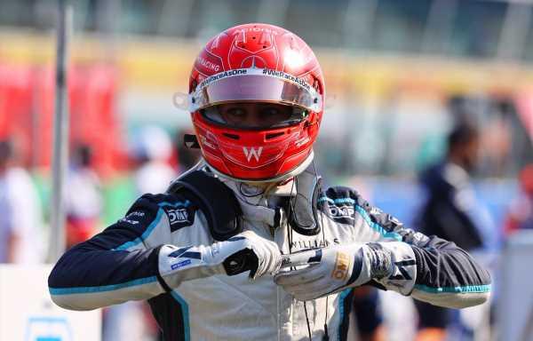George Russell admits he got Monza sprint start 'wrong'