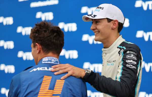 George Russell commiserates with Lando Norris: 'I know how it feels'