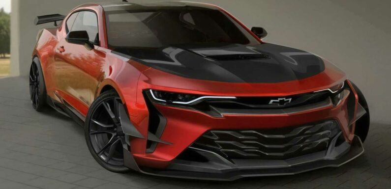 Hardcore Chevy Camaro Sketched By GM, Is It The Allegedly Axed Z/28?
