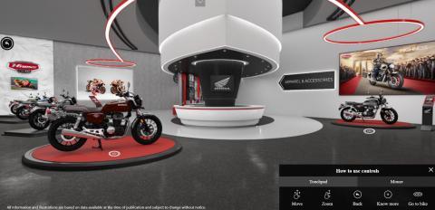 Honda BigWing launches its virtual showroom in India