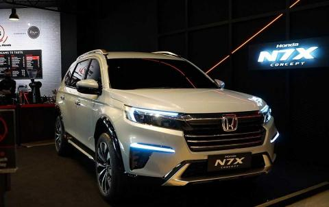 Honda N7X SUV production model to be unveiled on 21 September