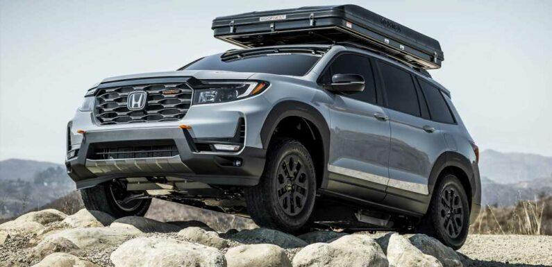 Honda Passport TrailSport Rugged Roads Concept Actually Delivers on TrailSport Promise