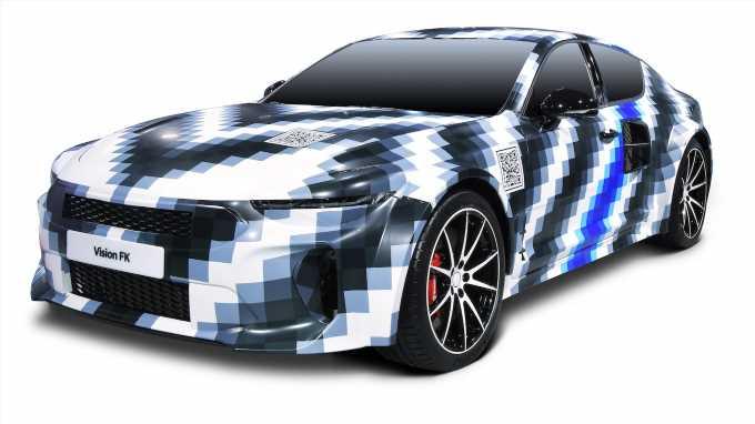 Hyundai Vision FK Concept First Look: Hydrogen Horsepower
