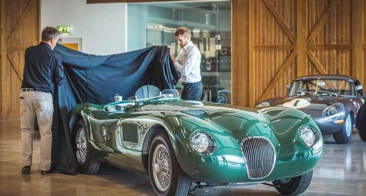 Jaguar unveils finished C-Type Continuation