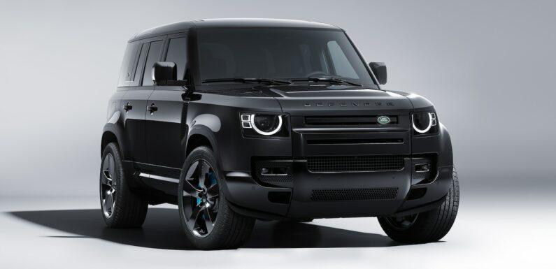 Land Rover Debuts Defender V-8 James Bond Edition