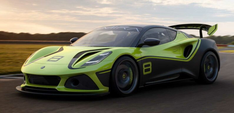 Lotus Emira GT4 Race Car Debuts With More Wings, Less Weight