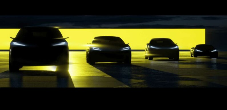 Lotus Teases Four New Made-In-China EVs Arriving From 2022 To 2026