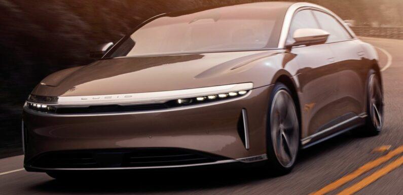 Lucid Air receives official EPA range rating of 832 km; goes 173 km further than Tesla Model S Long Range – paultan.org