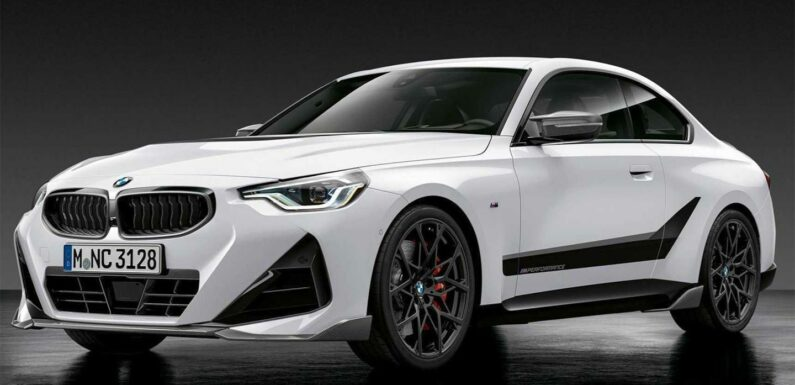 M Performance Parts coming to M240i xDrive