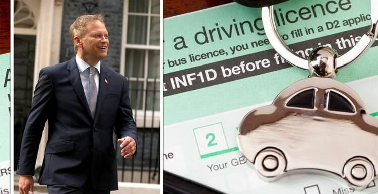 Major changes set for driving licences and MOTs as Grant Shapps praises 'post-EU freedoms'