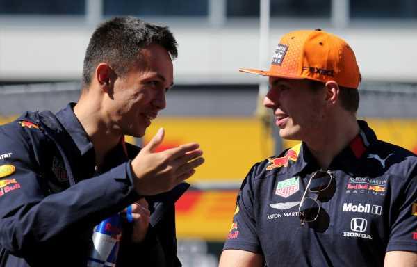 Max backs Albon to shine at 'less pressured' Williams