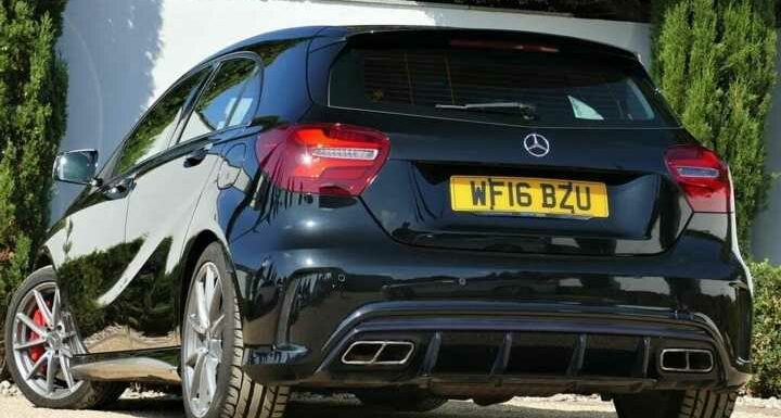 Mercedes-AMG A45   Spotted