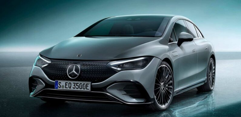 Mercedes-Benz EQE 350 Revealed With 660 Km WLTP Range