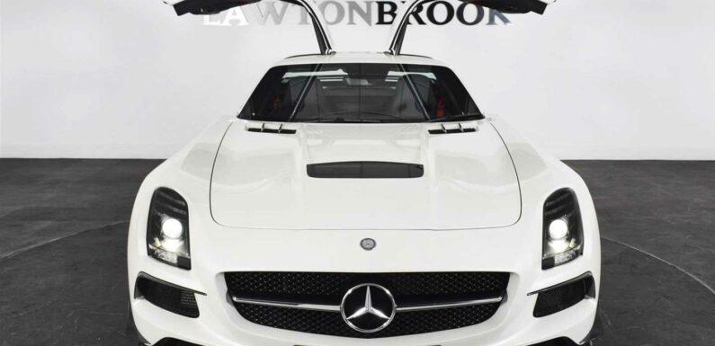 Mercedes SLS AMG Black Series for sale