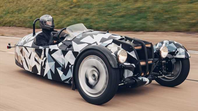 Morgan Teases Next 3 Wheeler With Ford I-3 Engine
