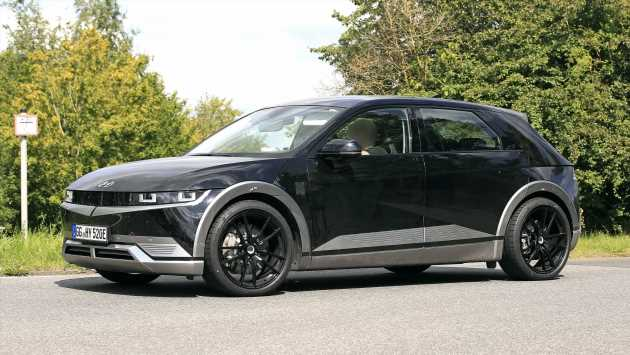 New 2023 Hyundai Ioniq 5 N spied testing for the first time