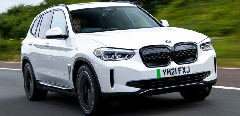 New BMW iX3 2021 review