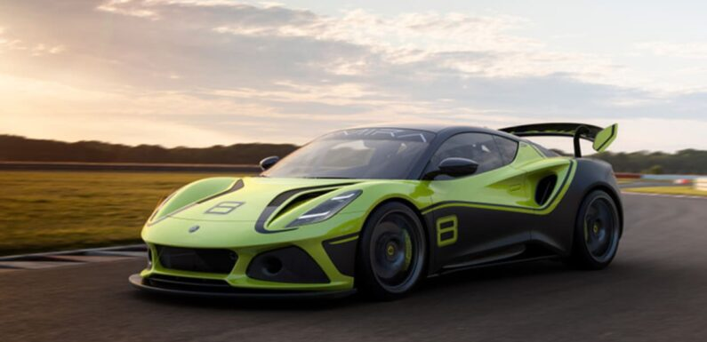New Lotus Emira GT4 racer launched with 400bhp