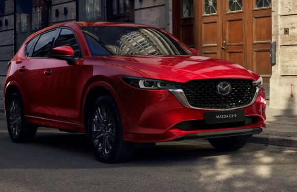 New Mazda CX-5 revealed with updated styling and tech for 2022