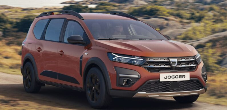 New seven-seat Dacia Jogger unveiled ahead of Munich Motor Show debut