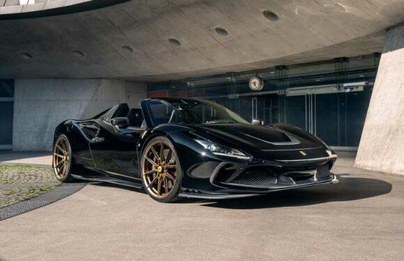 Novitec launches 802hp Ferrari F8 Spider