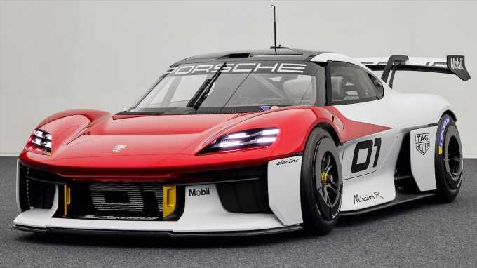 Porsche Mission R Concept First Look: Speed Racer