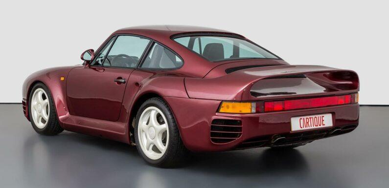 Prototype Porsche 959 for sale