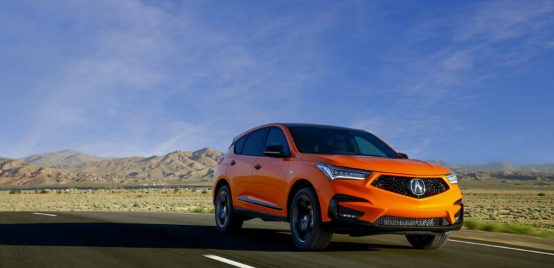 Refreshed 2022 Acura RDX adds wireless CarPlay, updated drive modes