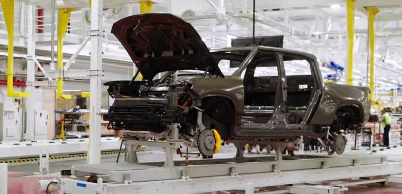 Report: First Production-Ready Rivian R1T Rolls Off Assembly Line