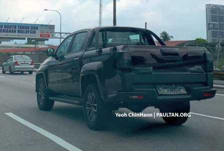 SPIED: JMC Vigus Pro sighted in Malaysia – Chinese pick-up to be sold by Tan Chong's Angka-Tan business – paultan.org