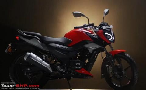 TVS Raider 125 launched at Rs. 77,500