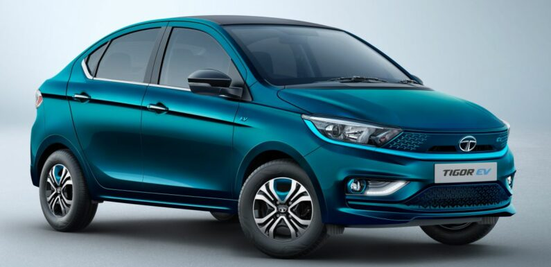 Tata Tigor EV facelift launched in India – affordable entry-level electric vehicle with 306 km range; fr RM68k – paultan.org