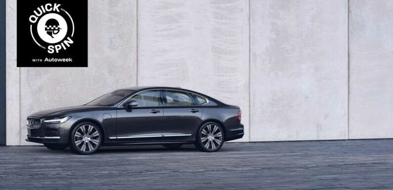 The 2021 Volvo S90 Recharge Luxuriates Efficiently