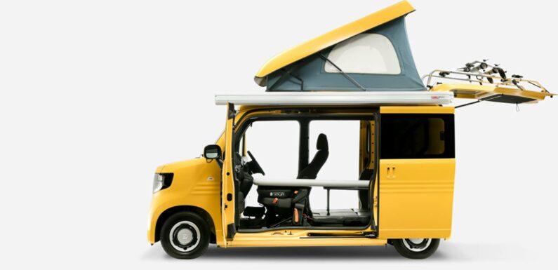 The Honda N-Van Compo Is the Cutest Little Camper Van