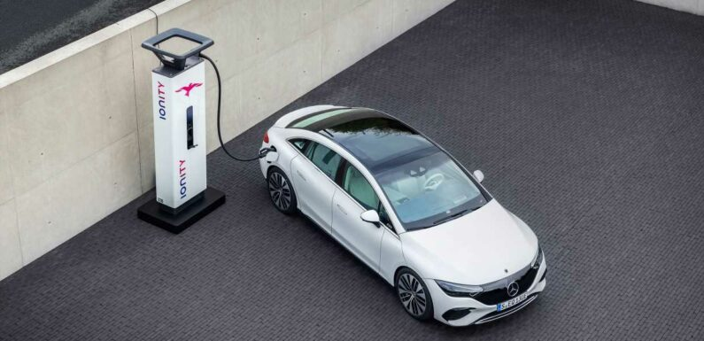 The Mercedes-Benz EQE Brings Electricity to the E-Class