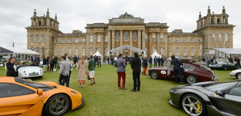 The best cars at the Salon Prive 2021 luxury car show