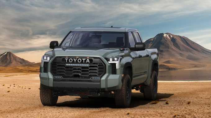 Toyota's Desert-Bashing Tundra TRD Pro Is Better Than Ever for 2022