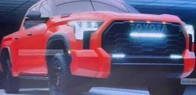 Watch! 2022 Toyota Tundra Reveal Trailer
