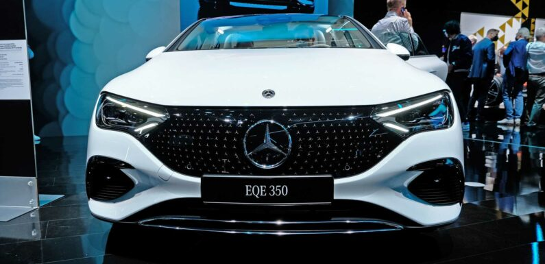 Watch Our Mercedes-Benz EQE Walkaround At IAA Mobility 2021