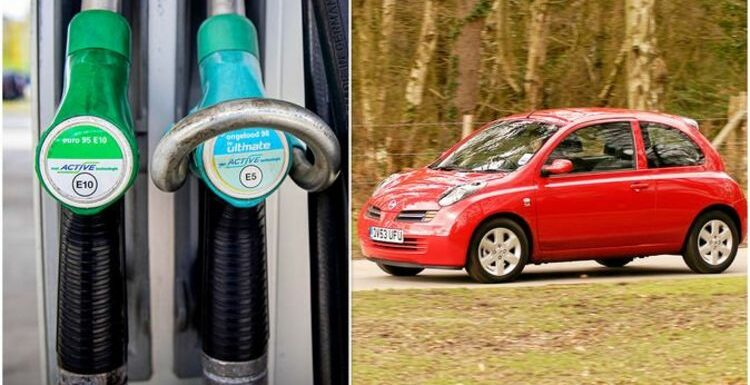 Which car models CAN'T use new E10 fuel? 10 'popular' makes at risk from petrol change