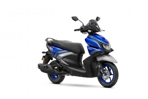 Yamaha Ray ZR 125 Hybrid launched at Rs. 76.830