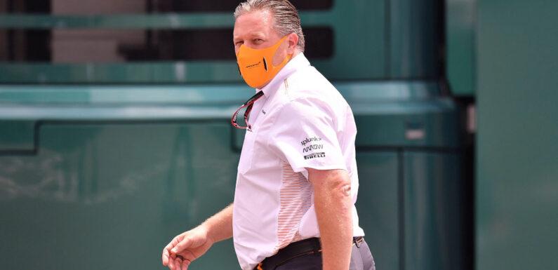 Zak Brown calls for Formula 1 to loosen COVID-19 protocols   Planet F1